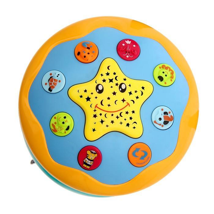 Развивающая игрушка «Подводный мир» с функцией ночника, световые и звуковые эффекты