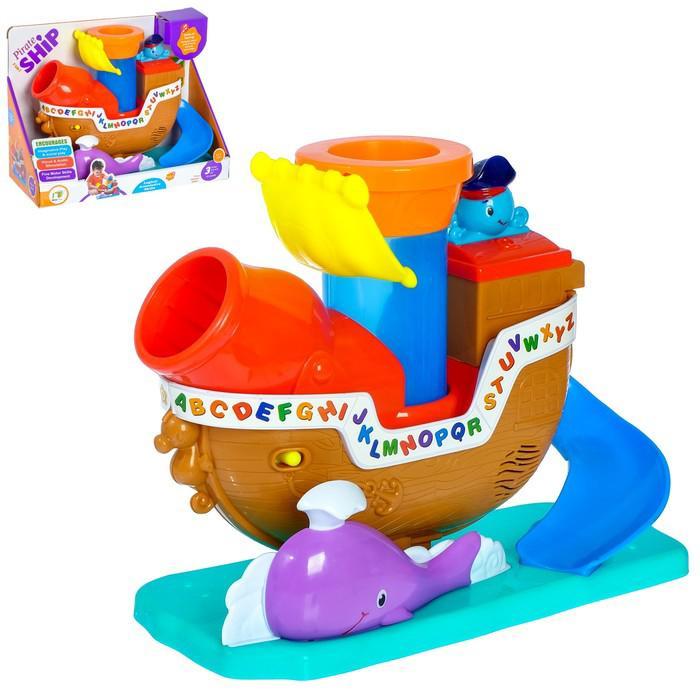 Развивающая игрушка «Пиратский корабль», звуковые эффекты