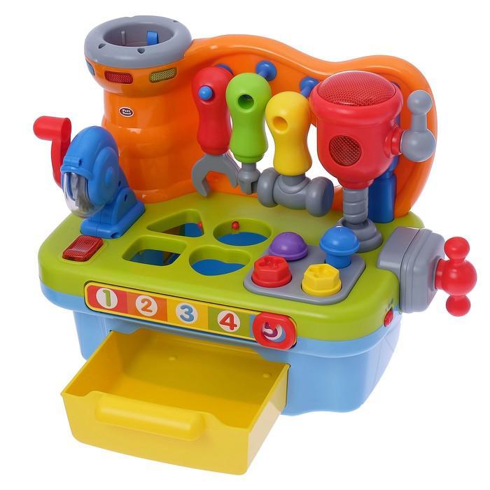 Игрушка развивающая «Умелый мастер», световые и звуковые эффекты