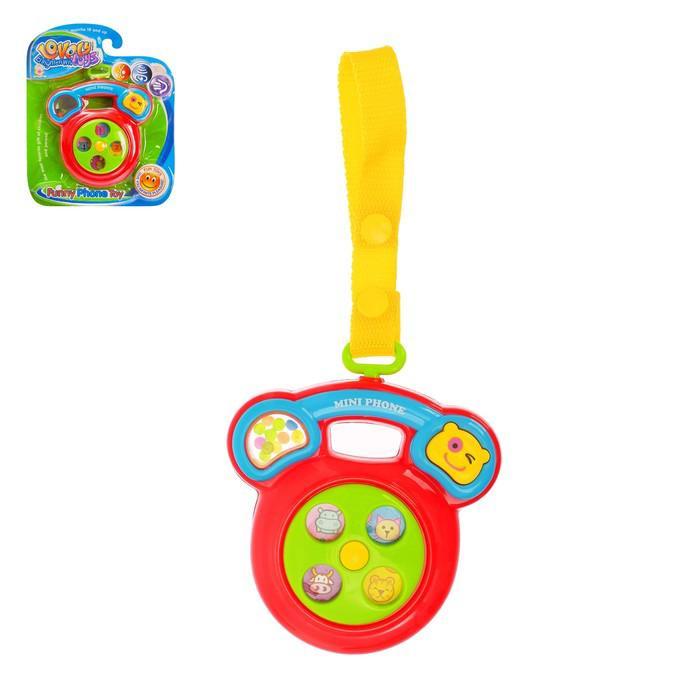 Музыкальная игрушка «Телефончик», звуковой эффект, МИКС