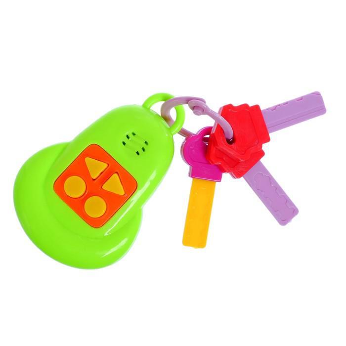 Музыкальная игрушка «Брелок», звуковые эффекты, МИКС