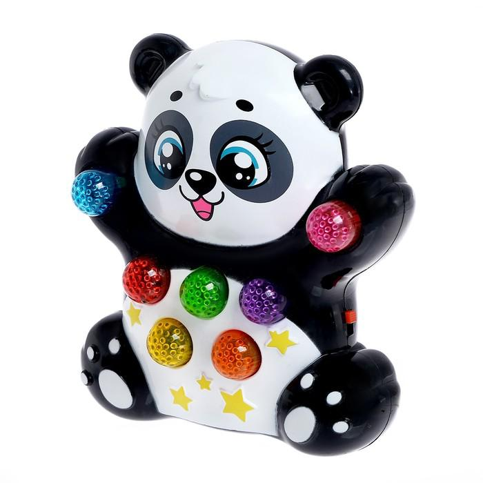 Музыкальная игрушка «Панда», световые и звуковые эффекты