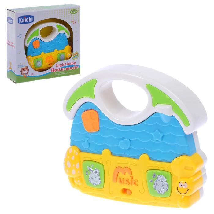 Музыкальная игрушка «Хорошее настроение», световой и звуковой эффект, МИКС