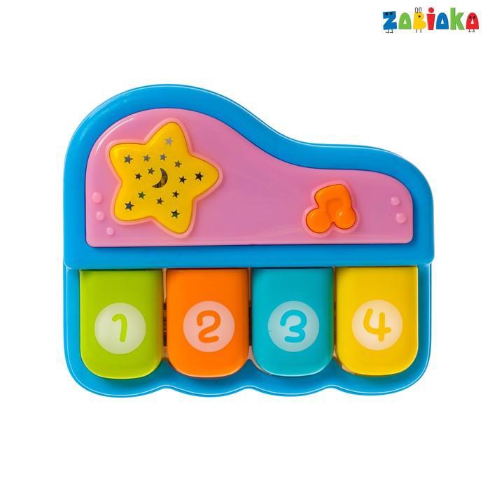 Музыкальная игрушка «Пианино», световые и звуковые эффекты