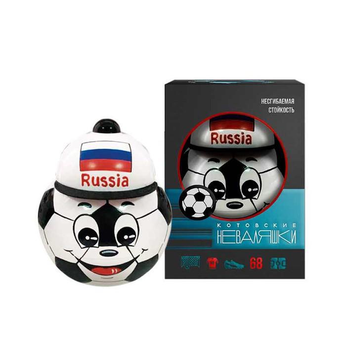 """Неваляшка """"Футбольный мяч"""" в художественной упаковке"""