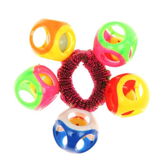 Погремушка-браслет «На ручку № 4», цвета МИКС