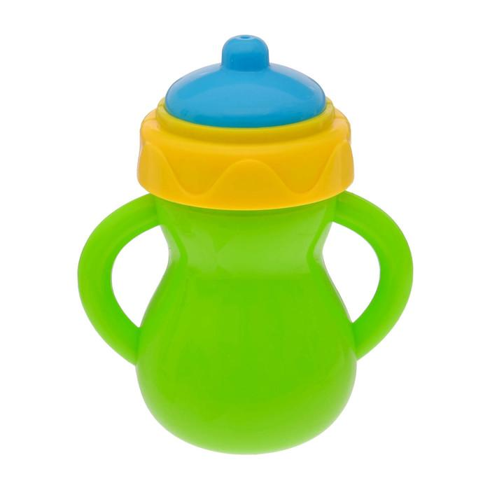 Погремушка «Бутылочка», цвета МИКС