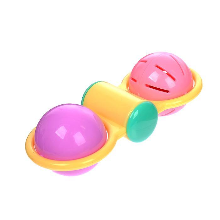 Погремушка «Малышок», цвета МИКС