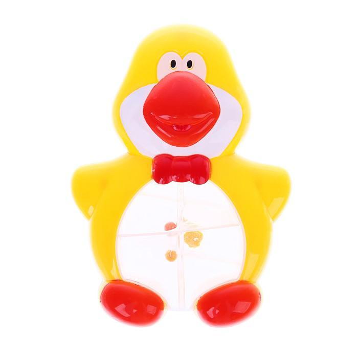 Погремушка Крошка Я «Пингвин», цвет МИКС