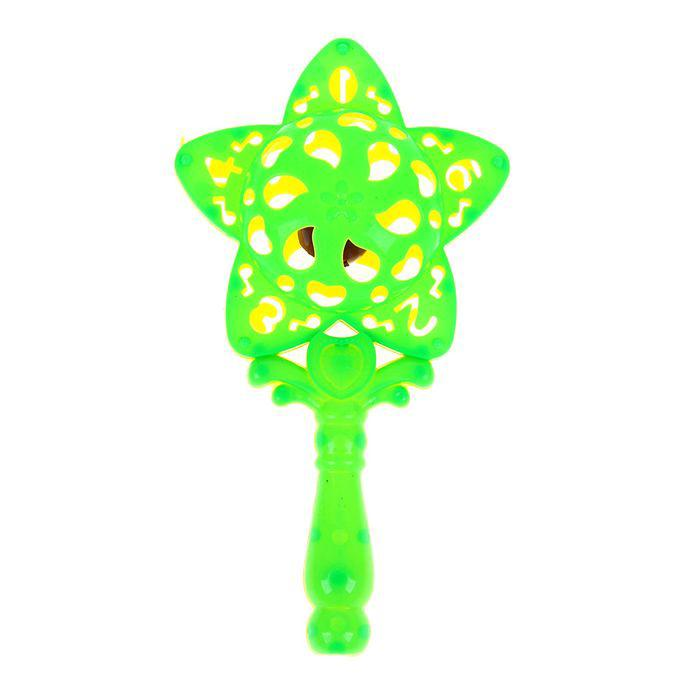 Погремушка «Звезда», цвета МИКС