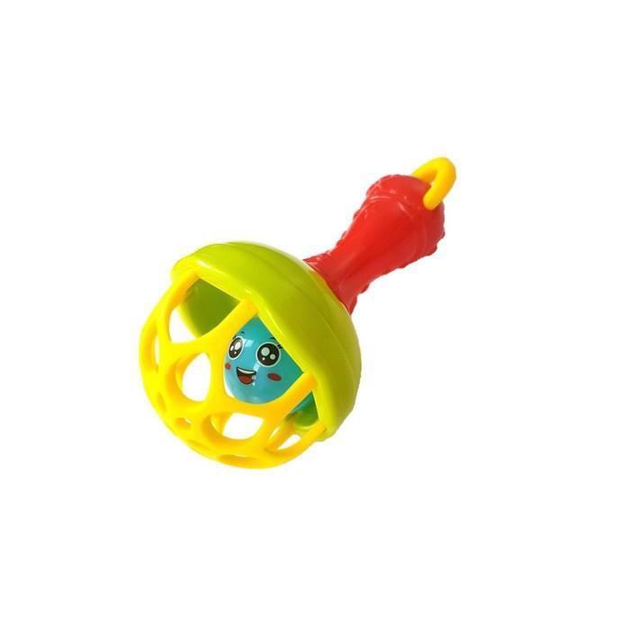 Погремушка «Волшебный шарик» цвет МИКС