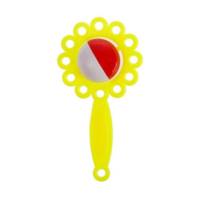 Погремушка «Ромашка», цвета МИКС