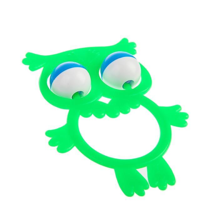 Погремушка «Совёнок», цвета МИКС