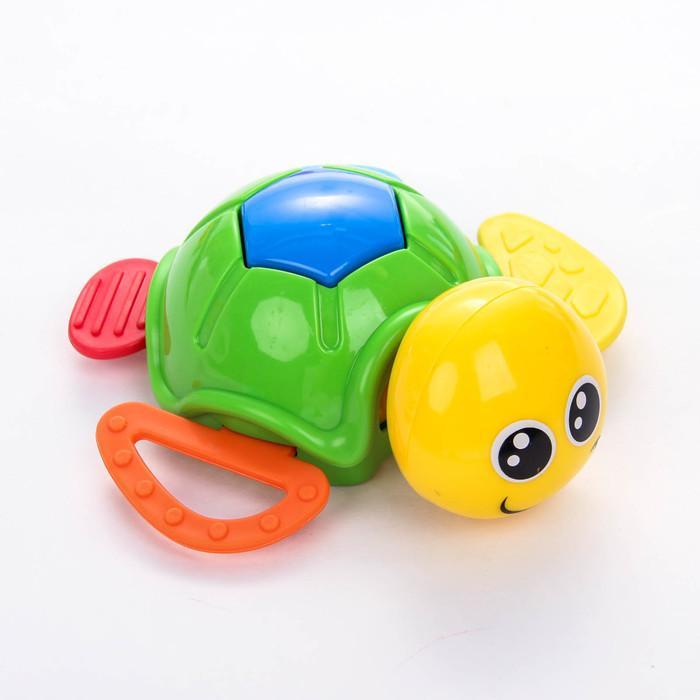Развивающие игрушки-погремушки «Морской мир», набор 5 шт.