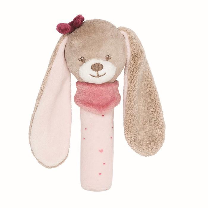Игрушка мягкая Nattou Cri-Cris Nina, Jade & Lili «Кролик»