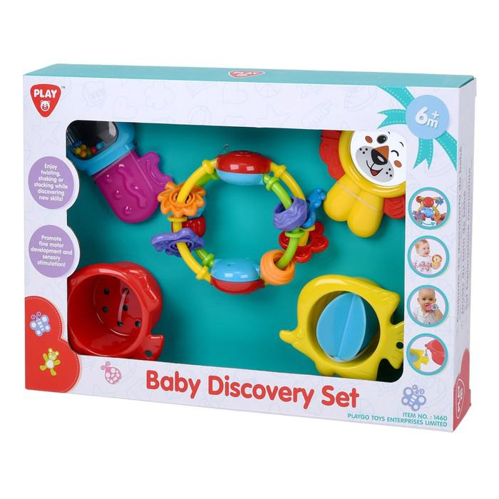 Набор развивающих игрушек «Колечки» Playgo