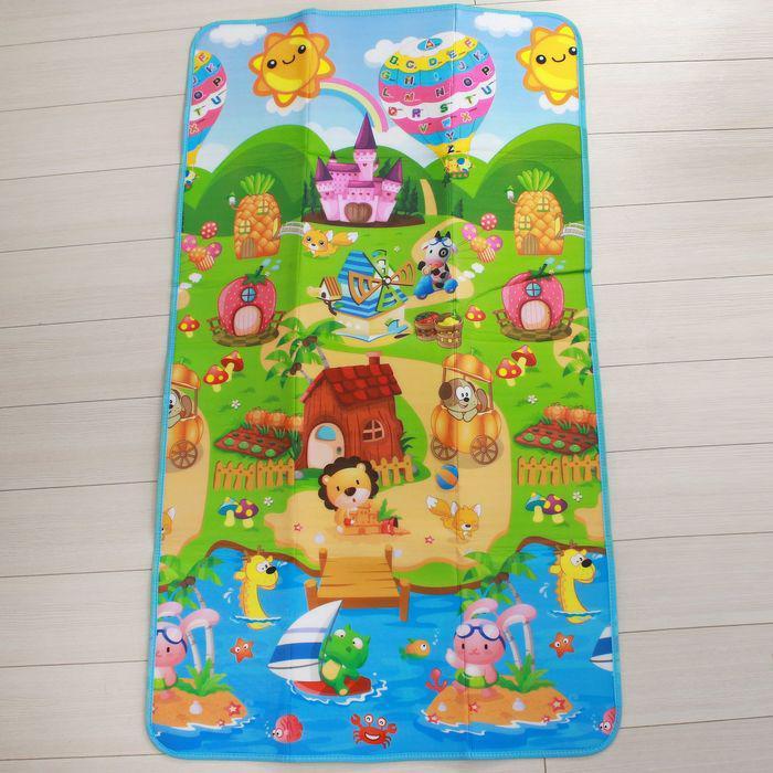 Коврик детский на фольгированной основе «Воздушный шар», размер 177х100 см