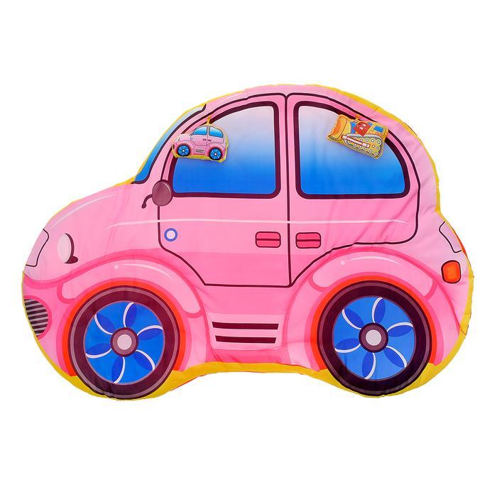 Коврик детский развивающий «Машинка», 2 игрушки