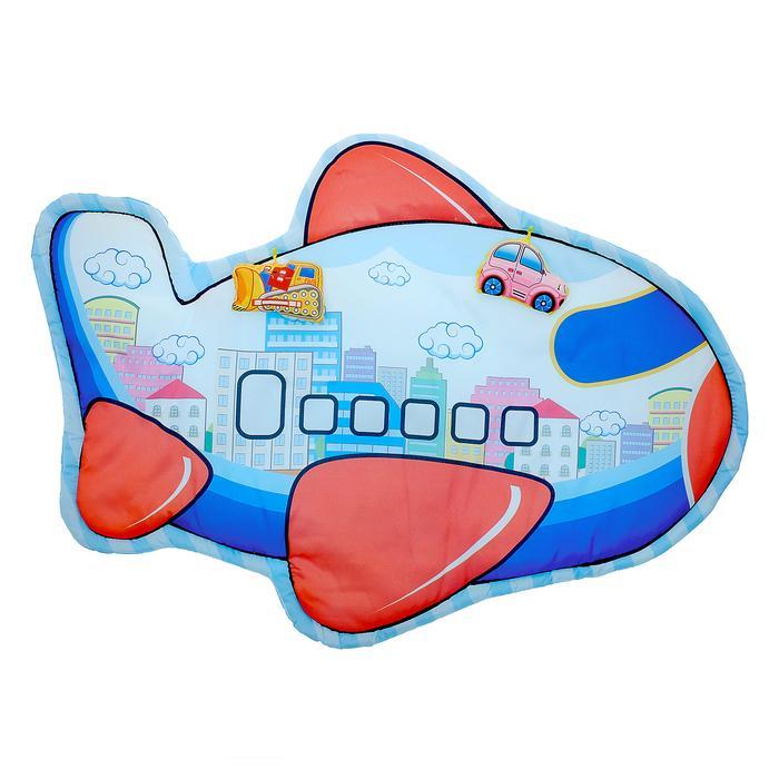 Коврик детский развивающий «Путешествие», 2 игрушки