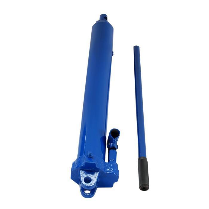Цилиндр гидравлический AE&T с насосом, 5 т, ход штока 490мм, 21 кг T01105
