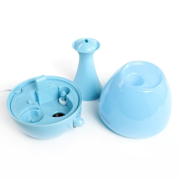 Увлажнитель воздуха ENERGY EN-616, 25 Вт, 2.6 л, ароматизация, голубой