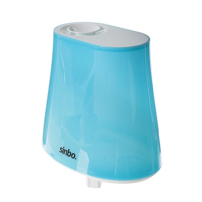 Увлажнитель воздуха Sinbo SAH 6113, ультразвуковой, 25 Вт, 4.5 л, голубой