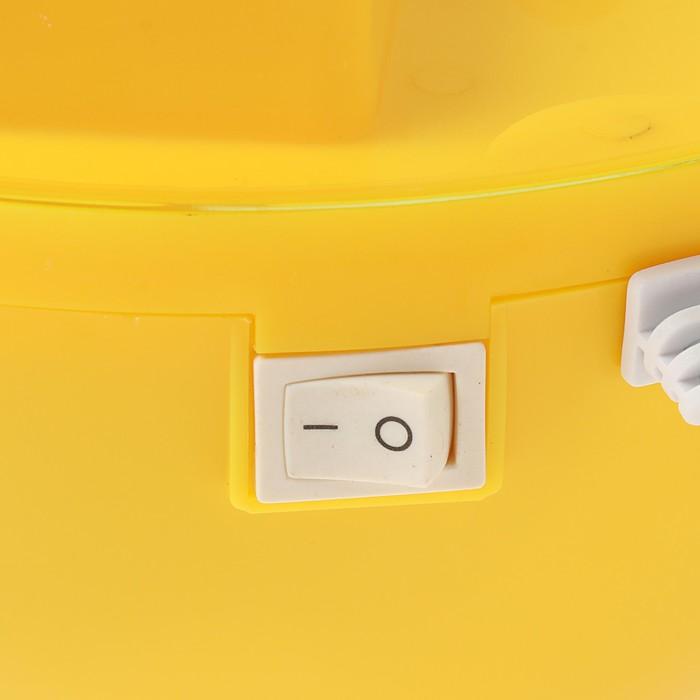 Увлажнитель воздуха NeoClima NHL-320D, ультразвуковой, 25 Вт, 3.2 л, желтый