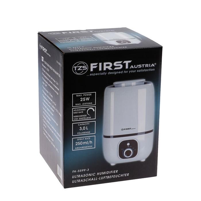 Увлажнитель воздуха FIRST FA-5599-3 White, 25 Вт, 3 л, белый