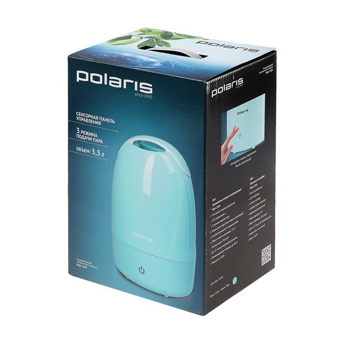 Увлажнитель воздуха Polaris PUH 2204, 30 Вт, 3.5 л, 40 м2, 350 мл/ч, синий