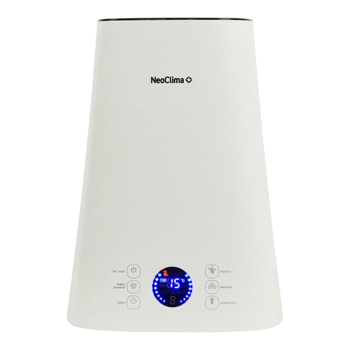 Увлажнитель NeoClima NHL-500-VS, ультразвуковой, 5 л, до 40 м², белый