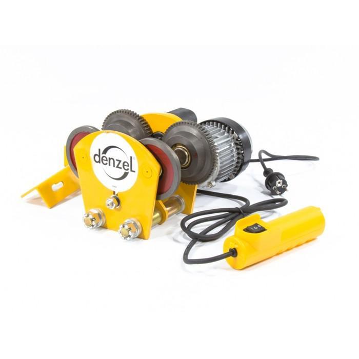 Каретка Denzel электрическая, для тельфера T-1000, 1 т, 540 Вт 52009