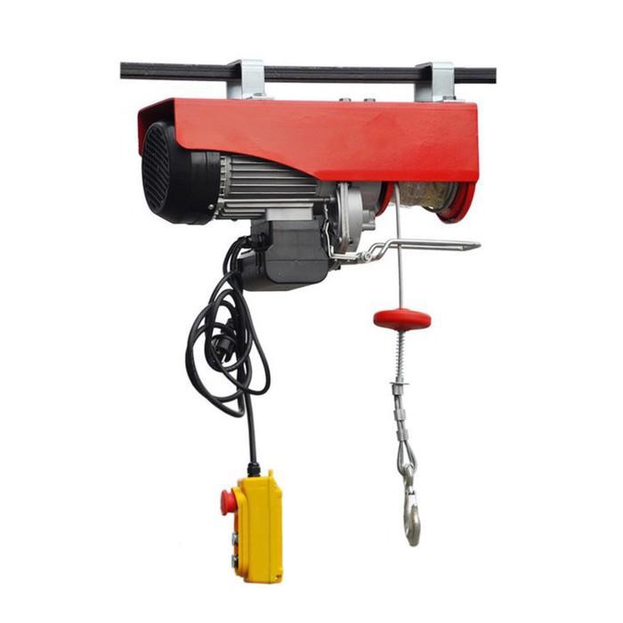 Таль подвесная Big Red электрическая, 220 В,1650 Вт, 500/1000 кг, 12/6 м TRH107