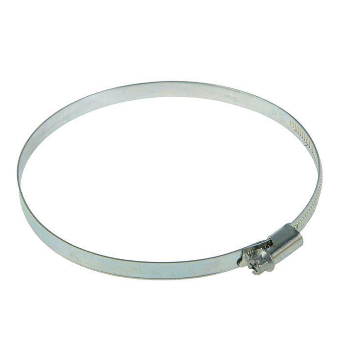 Хомут червячный TUNDRA krep, диаметр 110-130 мм, оцинкованный