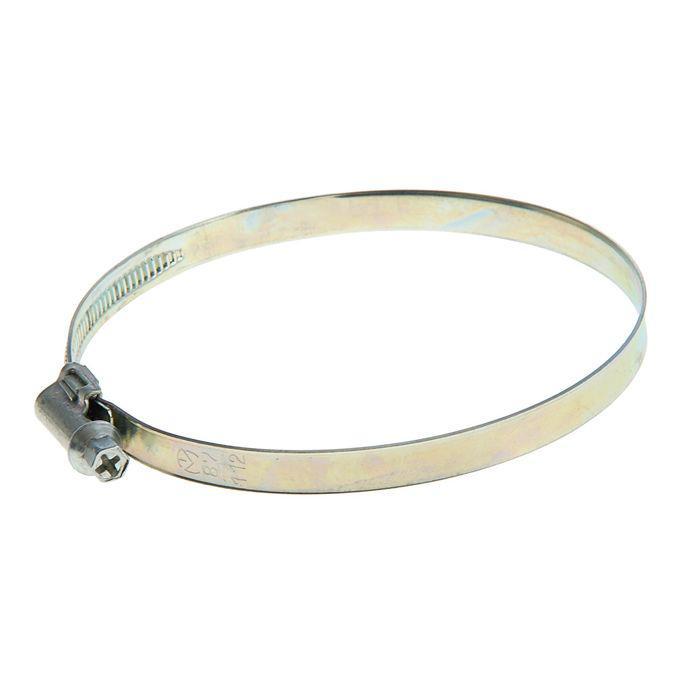 Хомут червячный «Стандарт», диаметр 87-112 мм, оцинкованный