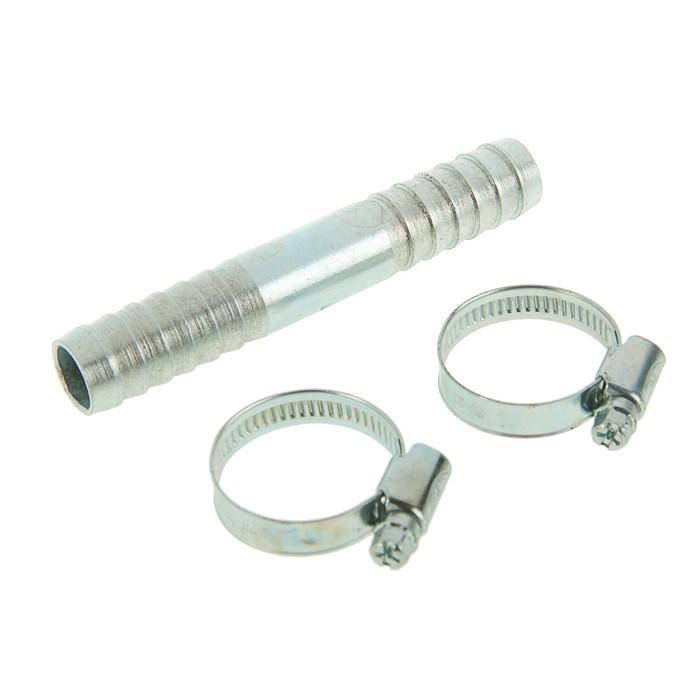 "Комплект для ремонта шланга MGF, диаметр 18 мм, прямая елочка тип ""А"", 2 хомута"