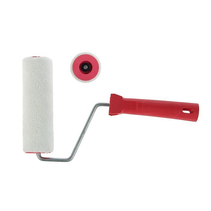 Валик LOM, велюр, 150 мм, ручка d=6 мм, D=40 мм