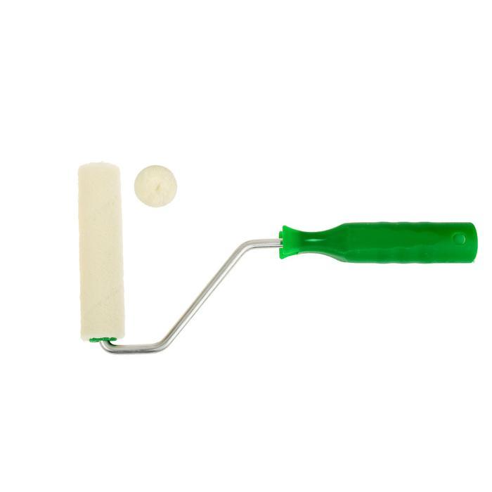 Набор TUNDRA basic, велюр, ручка + 2 ролика 100 мм, d=6 мм , D=15 мм, ворс 4 мм
