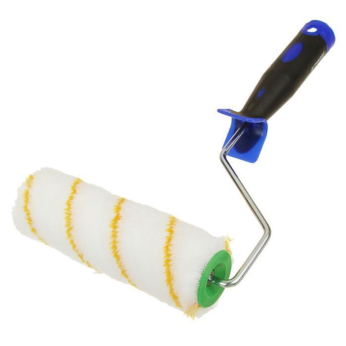 Валик TUNDRA comfort, полиакрил, 180 мм, ручка d=6 мм, D=42 мм, ворс 12 мм, двухкомп. ручка