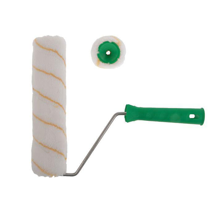 Валик TUNDRA basic, полиамид, 240 мм, ручка d=6 мм, D=42 мм, 12 мм, желтая нить