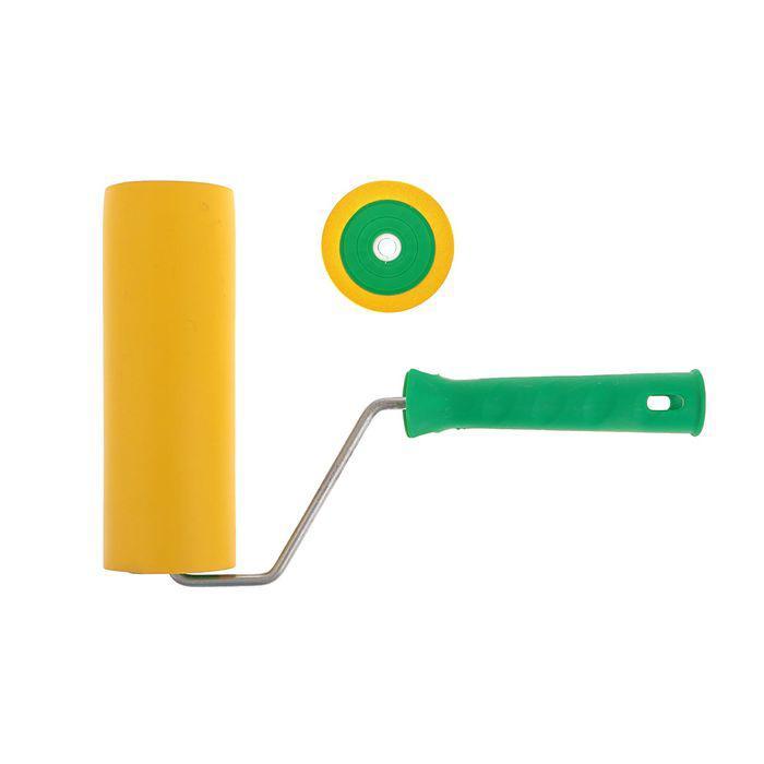 Валик прижимной TUNDRA basic, резина, 180 мм, ручка d=6 мм