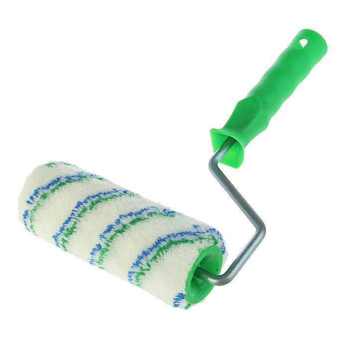 """Валик """"АКОР"""" Мастер, полиамид, 180 мм, ручка d=8 мм, D=48 мм, ворс 12 мм, для дерева"""