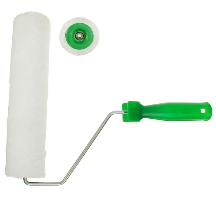 Валик TUNDRA basic, шерсть, 250 мм, ручка d=6 мм, D=42 мм, ворс 7 мм