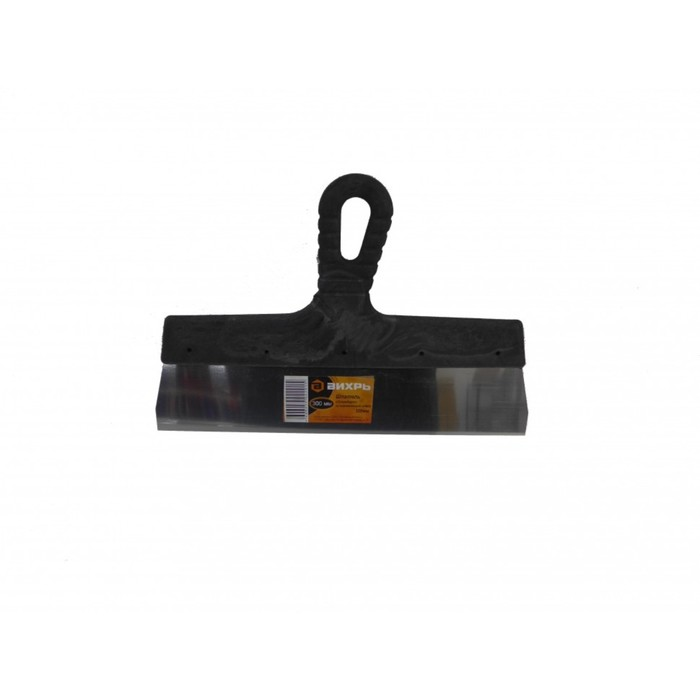 """Шпатель """"Вихрь"""" 73/3/2/22, 300 мм, нержавеющая сталь, пластиковая рукоятка"""