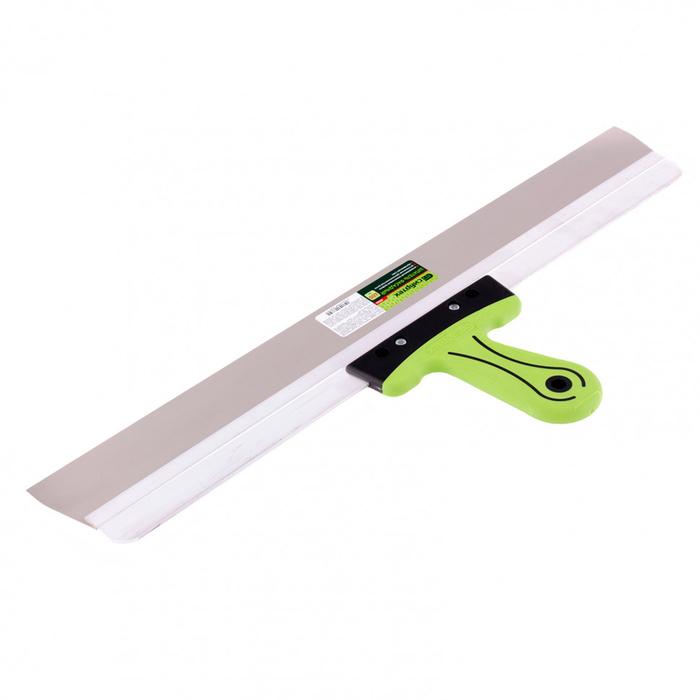 """Шпатель фасадный """"СИБРТЕХ"""" 85586, 600 мм, нержавеющая сталь, двухкомпонентная ручка"""