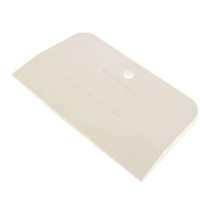 Шпатель резиновый TUNDRA Basic, 150 мм, белый
