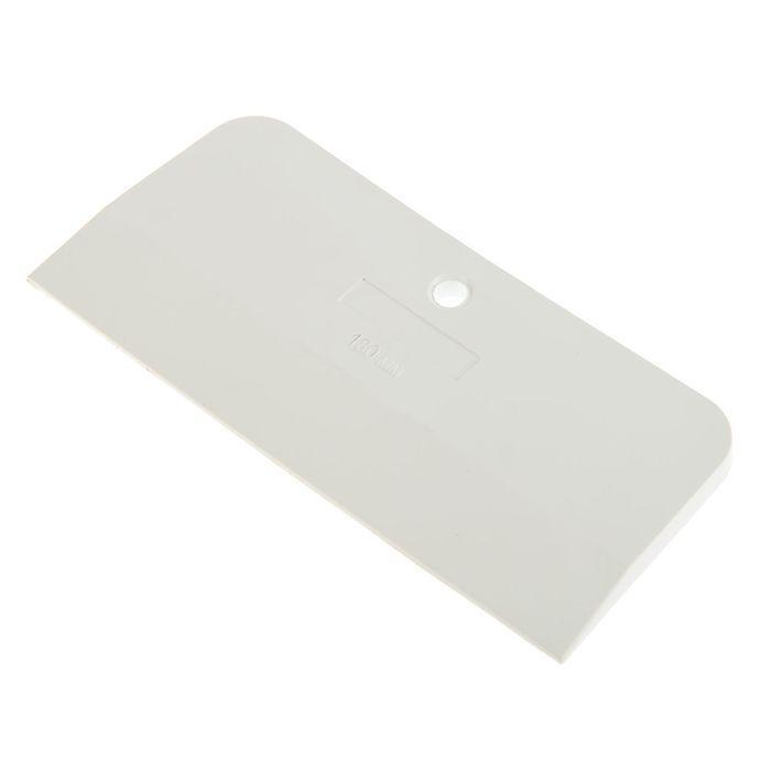 Шпатель резиновый TUNDRA Basic, 180 мм, белый