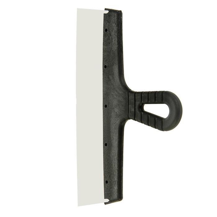 Шпатель фасадный TUNDRA Basic, 300 мм, нержавеющая сталь, ручка пластик