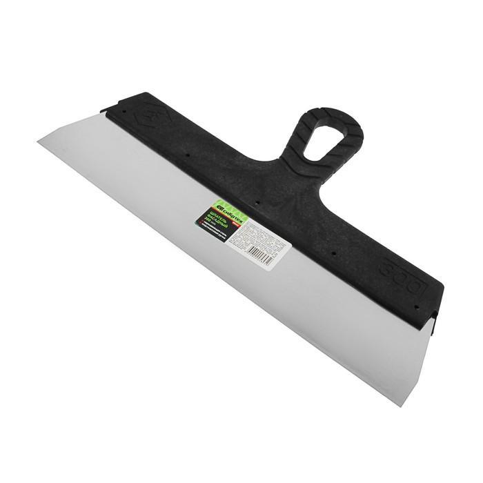 """Шпатель фасадный """"СИБРТЕХ"""", 300 мм, нержавеющая сталь, ручка пластик"""