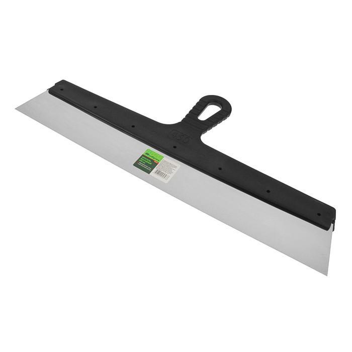"""Шпатель фасадный """"СИБРТЕХ"""", 450 мм, нержавеющая сталь, ручка пластик"""