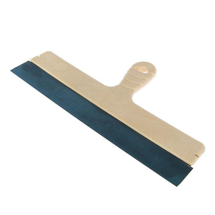 """Шпатель фасадный """"Лазурный берег"""", 450 мм, пружинная сталь, ручка пластик, облегченный"""